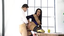 GIRLSRIMMING - FIRST DAY AT WORK with Chloe Lamour