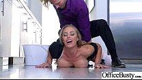 (Nicole Aniston) Round Huge Tits Office Girl En... Thumbnail