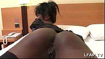 Bonne black francaise se fait defoncer dans un chambre d hotel