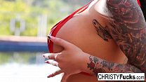 Hot Christy Mack shows off her hot body in this compilation!