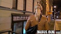 Euro blonde (Tonya) sucks cock for spending money - MOFOS