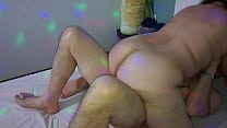 my wife with GG ass, riding on our friend as she is trustworthy, in the fur she enjoys a lot