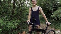 Male cycling shorts pornturned into gay anal plug testing ภาพขนาดย่อ