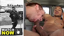 BAIT BUS - Thuggish, Ruggish Castro Supreme Goes Gay For Pay With Steven Ponce