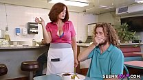 Big tip for the waitress # Andy James