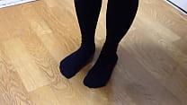 гЂђfetishгЂ'Melonpan Foodcrush Knee high socks