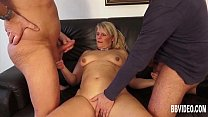 busty german milf takes two cocks • sexy alien abduction thumbnail