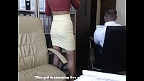 Image: Do You Have A Secretary Like This At Your Office?