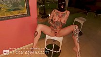 VR BANGERS Tattooed Curvy MILF Breaks Into Your House To Gets Fucked