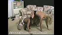 Stocking Catfight Renee vs Ebony 4
