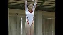 Corina - Topless Gymnastics video