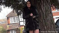 Bbw babe Sarah-Janes public flashing and outdoor exhibitionism of amateur mum Preview