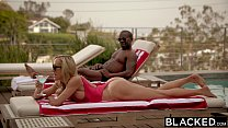 BLACKED Cheating MILF Brandi Loves First Big Black Cock Preview