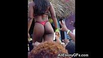 Busty Ebony GFs with Hot Asses! صورة