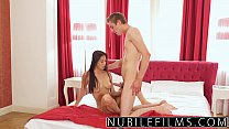 Nubilefilms - Tight Teen Pussy Goes Deep On Big Cock  - 25