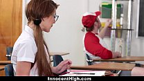 InnocentHigh - Pigtailed Schoolgirl (Joseline Kelly) Banged By Her Classmate