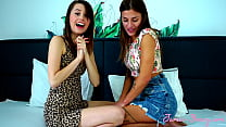 Make Out Challenge!! Silvia Dellai and Jamie Young