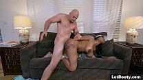 Big ass ebony huge tits babe interracial doggystyle fucked صورة