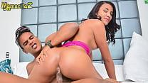 MAMACITAZ - #Dayana Cruz #Alex Moreno - Hardcore Hot Afternoon With A Sexy Ass Latina Teen