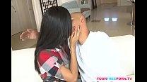 AMATEUR LATINA TEEN GETS HER PUSSY SLAMMED HARD