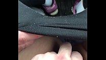 Fingering my girl in the car