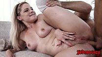 Luscious 18yo Lisey Sweet seduces stud into anal and facial