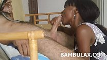 ebony teen amateur blowjob cum in mouth Thumbnail
