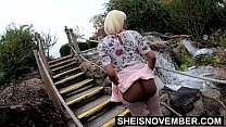 4k Sheisnovember Young Pussy And Big Ass Public Flash صورة