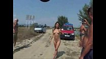 Public nude and piss blonde teen 01