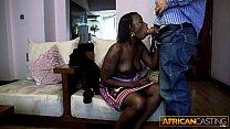 Black Ho Deep Throats 10 Inch Dick for a Job