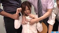 Screenshot Yumi Maeda star ts having sex at work with her t work with her c