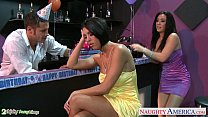 Busty babes Dylan Ryder and Jayden Jaymes sharing a stud at party pornhub video