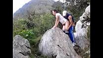Video bokep hiking fuck 1