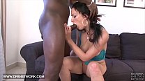 Hardcore interracial anal sex this babe gets black cock in her butt Preview