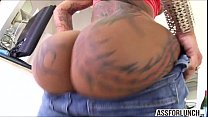 Bella gets pounded in the ass by her BF with a big black cock Vorschaubild
