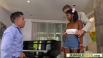Ebony Musician Does Anal For a Job (Daizy Cooper)