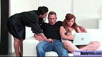 Hot Busty Mommy (Dayton Rains) Love Hard Sex In Front Of Camera vid-17