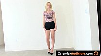 Beautiful Amateur Blonde Tryout - 9Club.Top