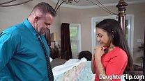 Older Guy Drills Attractive Stepdaughter Vorschaubild