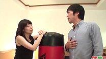Nao Mizuki full threesome with two y. men - More at Japanesemamas com