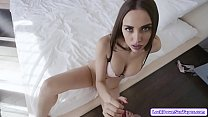 Busty russian babe POV fucked by her bf
