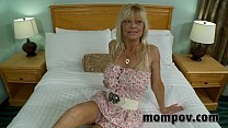 big tit blonde milf fucks young cock