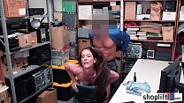 Hot MILF suspected by a cop and makes a deal wi...