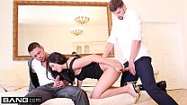 Coco De Mal cums hardest when she gets double penetrated thumbnail