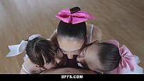 Download video bokep Ballerina teens get fucked by their new slick t... 3gp terbaru