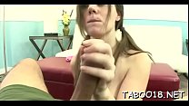 Foxy blond legal age teenager drops her undies and pleases her stud thick pole