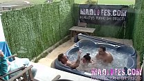 A LITTLE JACUZZI FUN Between Noemi and Emilio thumbnail