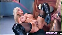 (Bridgette B) Huge Round Oiled Ass Girl Hard And Deep Anal Nailed clip-12