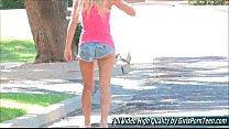 Staci sweet blonde naked outside the ftvgirls HD movies at GirlsPornTeen dot com صورة