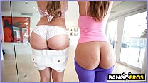 BANGBROS - Milf and Booty with Monique Fuentes & Lexi Lockhart On Ass Parade!